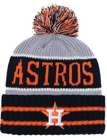 2019 Winter Astros Beanie beanies Skull Hats for Men women Knitted Beanie Wool Hat Man Knit Bonnet Beanies Warm Baseball Skull Cap 00