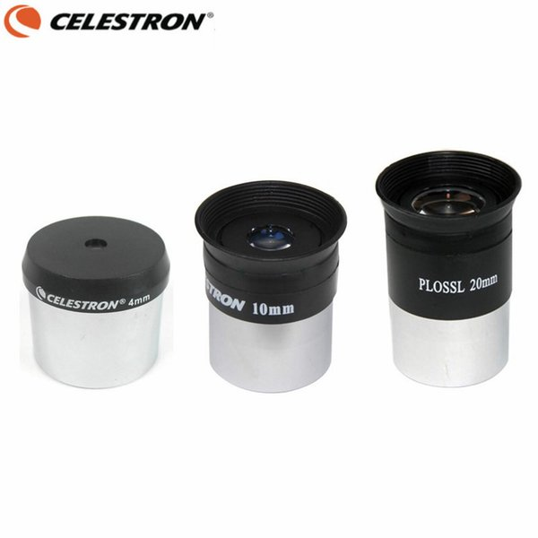 wholesale Telescope Plossl HD Eyepiece Set 4mm 10mm 20mm Multi-Coated Lens Astronomical Monocular with 1.25 Inches Filter Thread