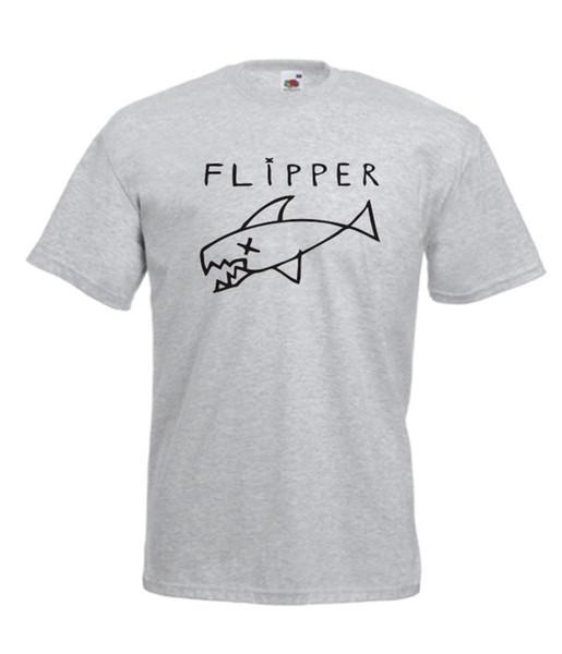 FLIPPER GRUNGE music present NEW xmas birthday gift ideas mens womens TSHIRT TOPFunny free shipping Casual tee
