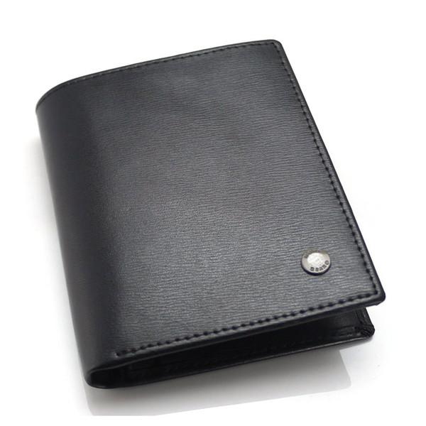 Großhandel Herren Luxus Mb Brieftasche Visitenkartenetui Aus Echtem Leder Schwarz Kurz Quadratische Kartenhalter Sammler Edition Brieftasche