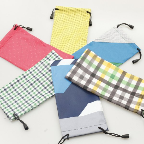 top popular sunglasses pouch Glasses Case Multi-Functional Cloth Cleaning Eyewear Sunglasses Bag Pouch protection glasses Optical Glasses Case 180mm*9mm 2021
