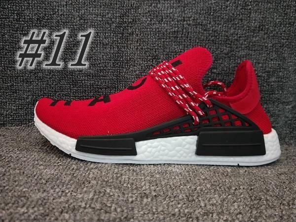 2019 Novità N * D Human Race R1 XR1 HU Scarpe da corsa Trail Pharrell Runner Giallo Nero Bianco Rosso Verde Grigio Blu Sneakers sportive Big Size