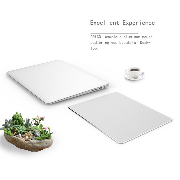 Aluminum square Mouse pad,Gaming Pad Non-slip Rubber Base for Fast Accurate Control for Any Dpi Speed,Optical Laser Mice Game or Desktop