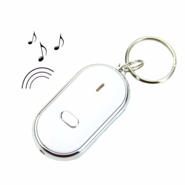 Whistle Remote Sound Control LED Light Torch Key Finder Locator Keyring Keychain