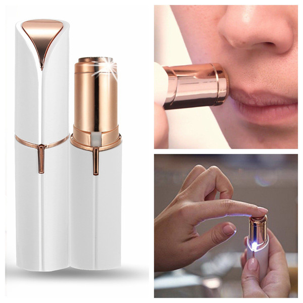 Electric Facial Hair Remover Shaver Personal Face Care Mini Painless Women Beauty Tools W6228