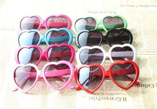 Kids Sunglasses INS girls love heart sunglasses goggles children UVB400 Protective Eyewear Baby Fashion girls cute cool cycling glasses A002