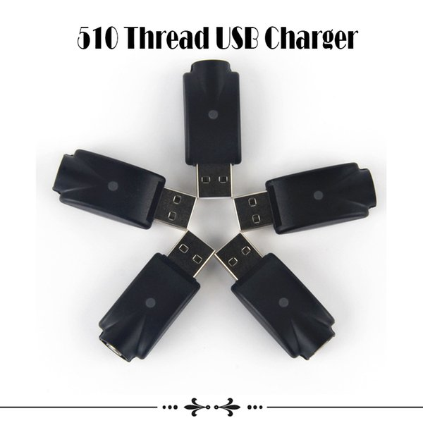 510 Thread USB Charger For CE3 O-Pen Battery Wireless Adapter Electronic Cigarettes USB Vape Charger Adapter eGo Charger eGo-T Battery