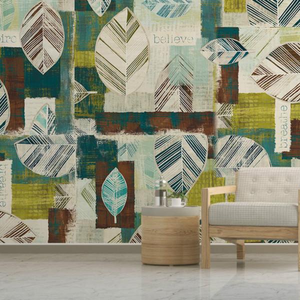 Living Room Wallpaper Leaves Series Watercolor Custom Mural Fashion And  Economic 3d Wallpaper Suppliers China Cool Wallpapers Custom Wallpaper From