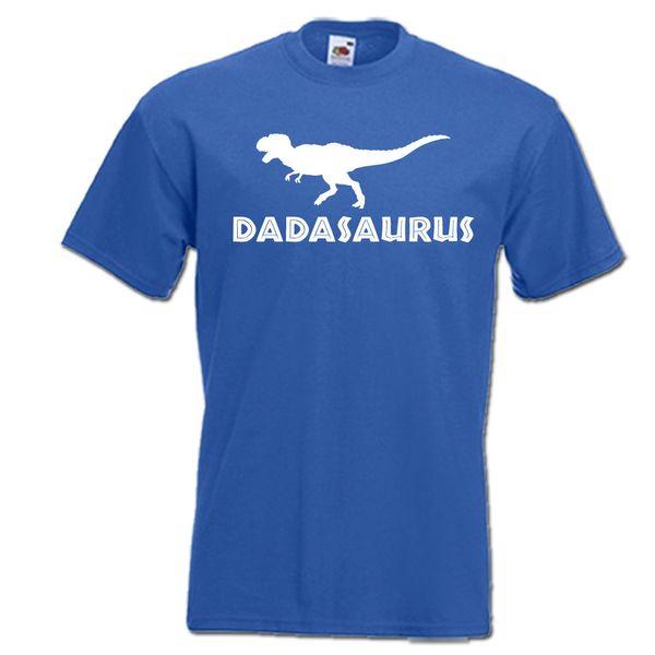 Dadasaurus T-rex динозавр Папа папа Папа папа мужская футболка смешно бесплатная доставка унисекс случайный подарок