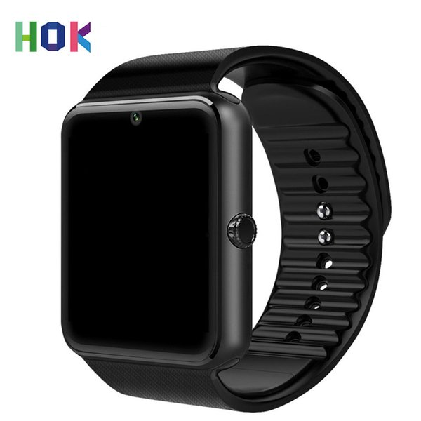 HOK Android Smart Watch Phone Gt08 Watch With Sim TF Card Camera For Android Support Russia Whatsapp Facebook
