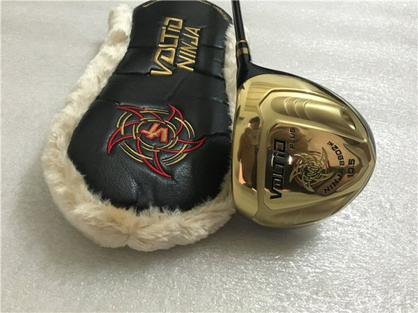 Katana Voltio Ninja PLUS Driver Gold Katana Golf Driver Golf Clubs 9.5/10.5 R/S/SR Graphite Shaft With Head Cover