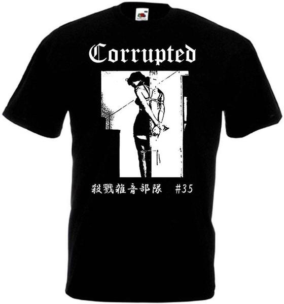 Camiseta v11 corrupta lodo negro / doom metal todas las tallas S-5XL