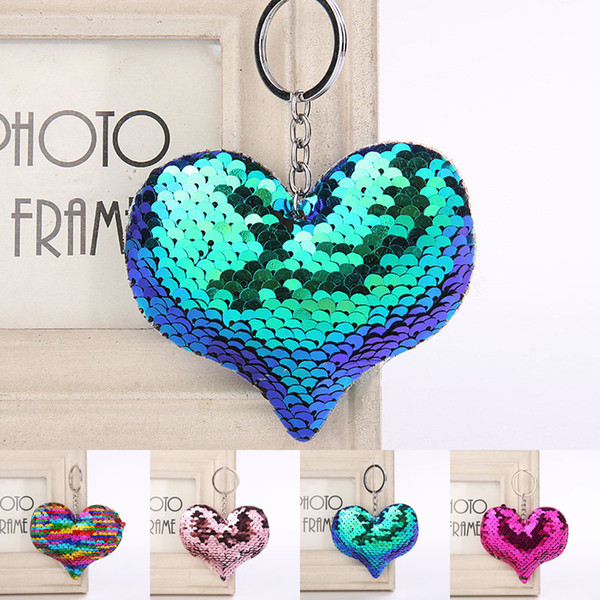La nuova sirena scala portachiavi cuore portachiavi portachiavi portachiavi borsa appende gioielli di moda regalo nave di lancio 340053