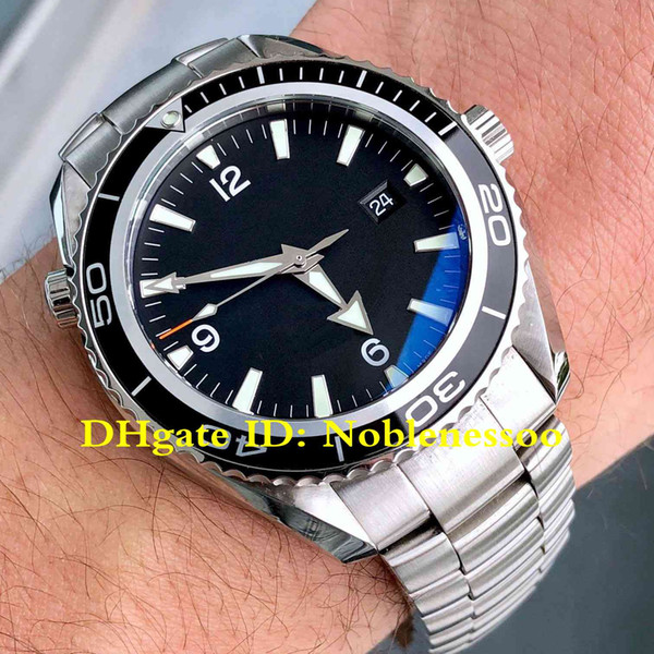 6 tyle luxury men watch planet ocean co axial 600m 2200 50 profe ional black dial teel jame bond 007 a ia 2813 automatic men 039 wat