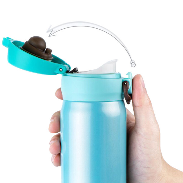 450ml Stainless Steel Double Wall Insulated Cup Vacuum Cup Thermal Mug Flask Coffee Mug Car Travel Drink Bottle Thermocup Termos