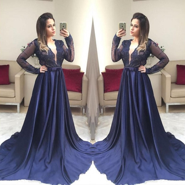 2018 sexy cheap plus size mother of the bride long sleeves black girl prom dresses formal evening gowns gold prom dress