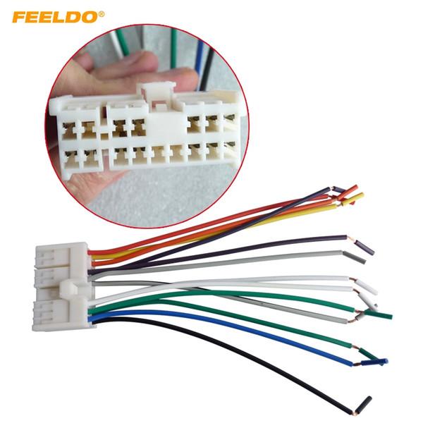 FEELDO Car Audio Stereo Wiring Harness Adapter Plug For Hyundai/KIA(01~05) Factory OEM Radio CD/DVD Stereo #2742