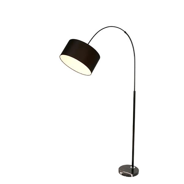 Nordic Moderne Einfache LED E27 Stehleuchten Schlafzimmer Marmor Eisen Kunst Wohnzimmer Studie Attic Bodenleuchten Beleuchtung Küchenarmaturen