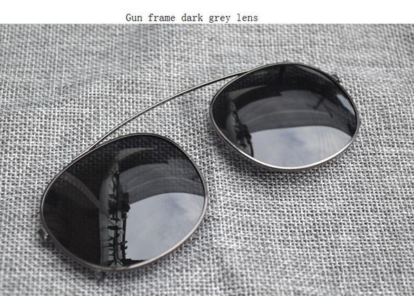 gun frame dark grey lens