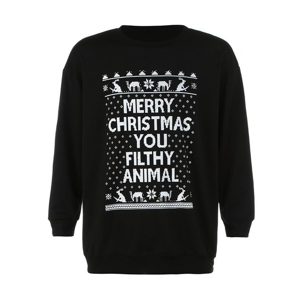 Sunfree Christmas Main Product Autumn Winter Man Quality Pullover Snowflake Print Casual Tops Cool Boy Worth Having 3L60