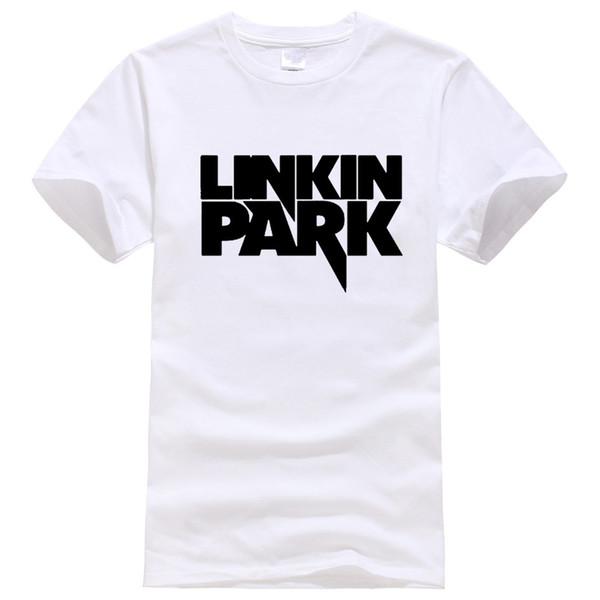 2018 Sommermode Linkin Park Kurzarm T-Shirt Männer MINUTEN bis Mitternacht gedruckt Baumwolle Hip Hop T-Shirt Rock Männer und Frauen