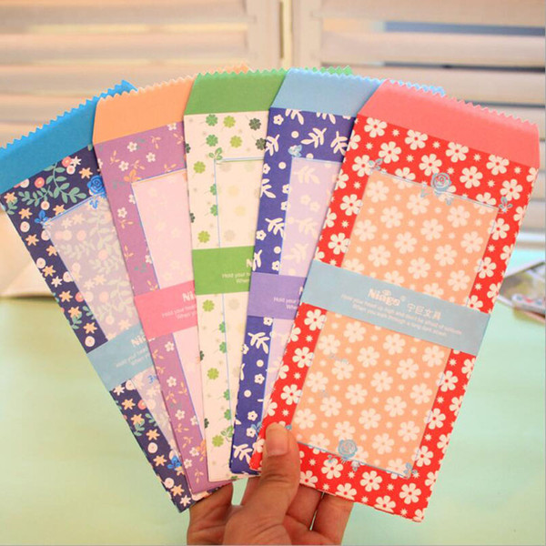 10pcs Many Cartoon Mini Colored Paper Envelope Cute Baby Gift Crafts Envelope Wedding Invitation Children'S Holiday Gifts