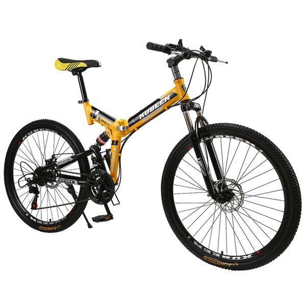 wholesale mountain bike 26-inch steel 21-speed bicycles dual disc brakes variable speed road bikes racing bicycle BMX Bike