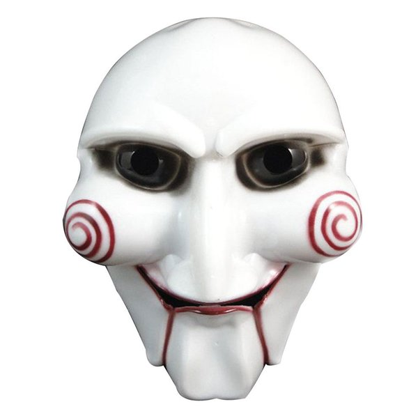 1 pcs High quality White Halloween Party Cosplay Horror Movie Puppet Mask Costume Prop mascara disfraz