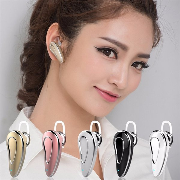 Mini Wireless Bluetooth Earphone D9 Ear Hook V4.0 Stereo Headphone Voice Control Headset with Mic for All Phone