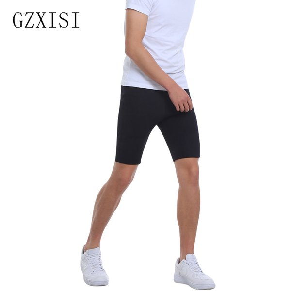 wholesale New Men Shaper Compression Slimming Pants Body Shapers Slimming Pants Hot Stretch Thermal Shorts Neoprene Shapewear Hot Selling