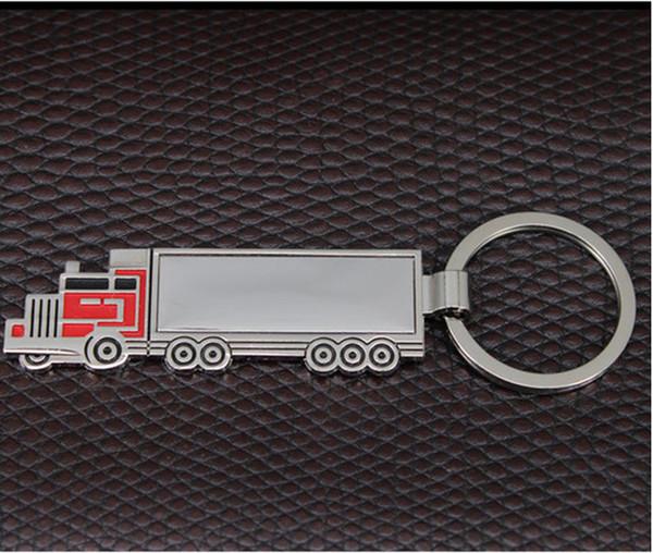 2018 Mode Auto Metal Creative forme de camion Porte-clés porte-clés anneau pour Mercedes Audi Volkswagen Ford style