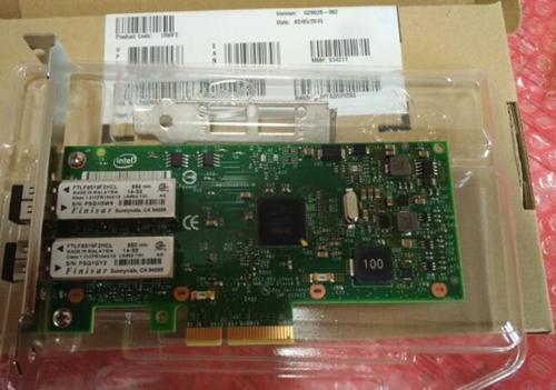 For Intel I350-F2 2-Port Fiber PCI-Express Ethernet Server Adapter with two multimode modules