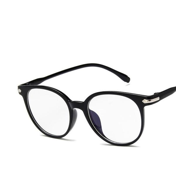 2017 New Retro Fashion, Plain Mirror 15959 Cadres de lunettes de couleurs transparentes, Joker des étudiants, cadres de lunettes artistiques