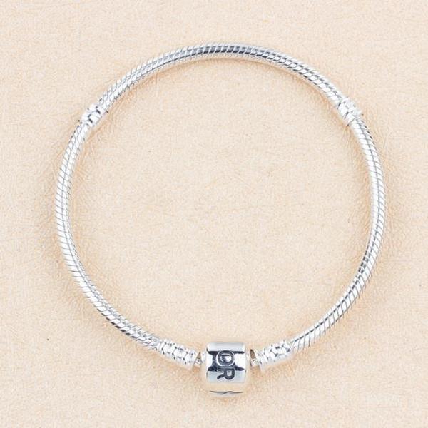 Armband aus massivem Silber mit Serpentin-Basis und rundem Kopf aus Serpentin-Kettenarmband