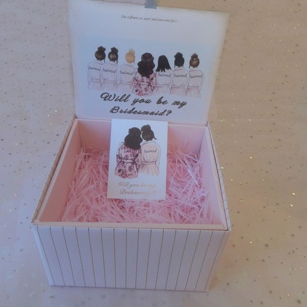 Folding Gift Box Wholesales Bridal Shower Party Bridesmaid Gifts Pink Black Red White Grey Cheap Favor Boxes For Weddings Favor Box Labels From