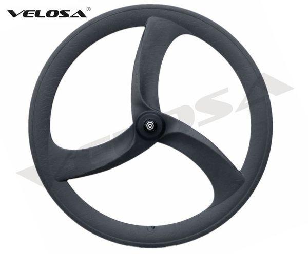 2018 NEW Tri spoke/3 spoke carbon wheel,56mm clincher for road/Track/Triathlon/Time Trial Bike Carbon Wheel