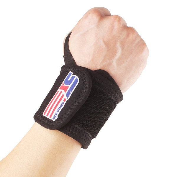 1pcs Weight Lifting Wrist Wraps Thumb Support Gym Winding Wrist Bracers Men Fitness Crossfit Sports Wristband Hand Bands