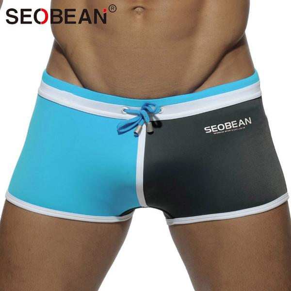 Acquista Seobean Brand Uomo Costumi Da Bagno Costumi Da Bagno Uomo ...