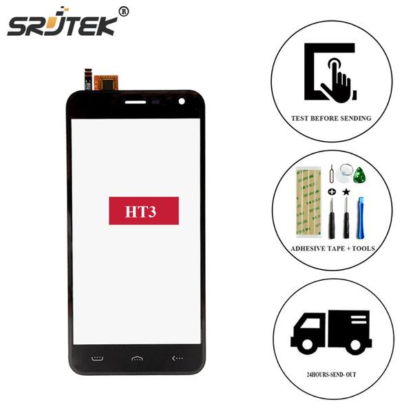 Srjtek Homtom HT3 Original TP Touch Screen Touch Panel Glass For Homtom HT3 5.0 Cell Phone