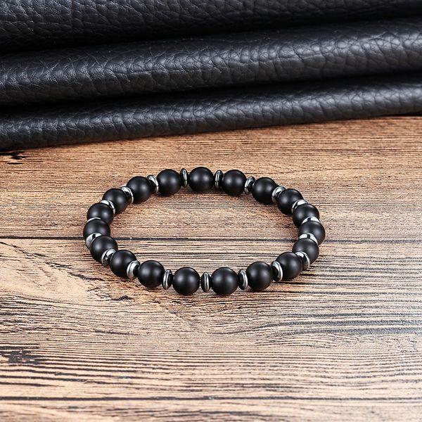 2019 LIVVY 2018 Best Selling Rock 8mm Black Lava Rock Bracelet New Energy  Men To Women Fashion Jewelry Men And Women Jewelry AS394 From Weiyi18,