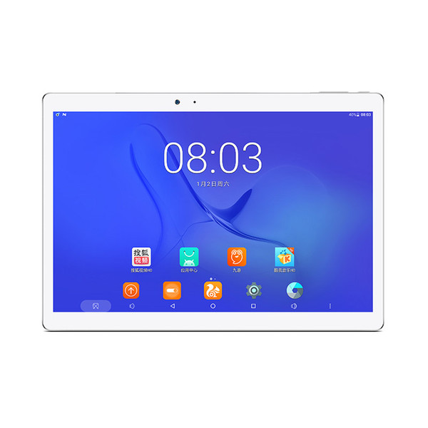Tablet PC Core Teclast T10 Hexa 10.1 '' IPS 2560 * 1600 Android 7.0 MT8176 2.1GHz 4GB LPDDR3 64GB eMMC 8.0MP + 13.0 MP HDMI