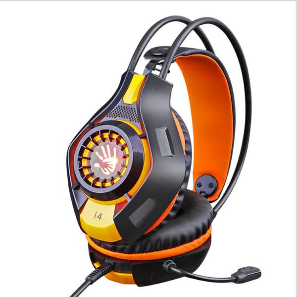 Außenhandel neue, direkt am Computer montierte i4-Kopfhörersets mit Kopfhörern und Kopfhörern mit Mikrofon