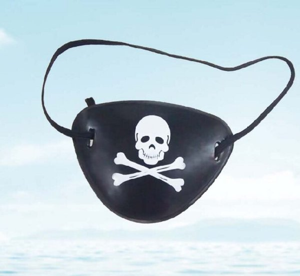 Pirate Eye Patch Skull Crossbone Halloween Party Favor Bag Costume Kids Toy Easter Gifts eye patch Cosplay eye patch Halloween