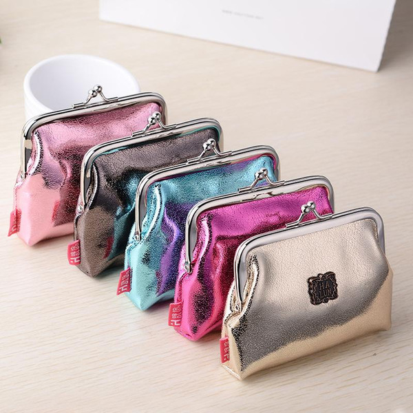 Hot Sale !!! New Fashion Women Hasp Coins Purse Famous Brand Women's PU Wallets Bags Luxury Change Purse Package Bolsa Best Birthday Gi
