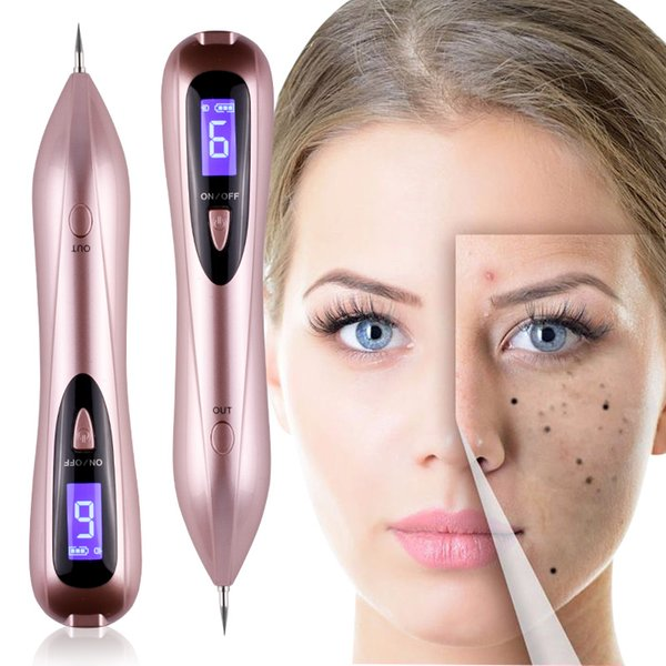 Plasma Pen Remove Granulation Warts Knots Tattoo Facial Freckles Black Spots Beauty Pen Laser Electric Ion Dot Mole Beauty Machine