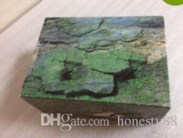 Fabrik Lieferant Luxus Grün Mit Original Box Holz Uhrenbox Papiere Karte Brieftasche BoxenCases Armbanduhr Box