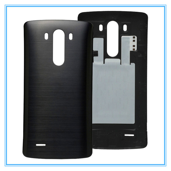 2019 Original Battery Door With NFC Wireless Back Housing For LG G3 D850  D851 D855 VS985 LS990 Back Cover Housing Battery Door Replacement Parts  From