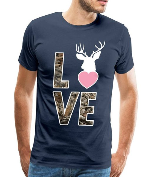 Make T Shirts Short O-Neck Tall Love - Country Closet T Shirt For Men