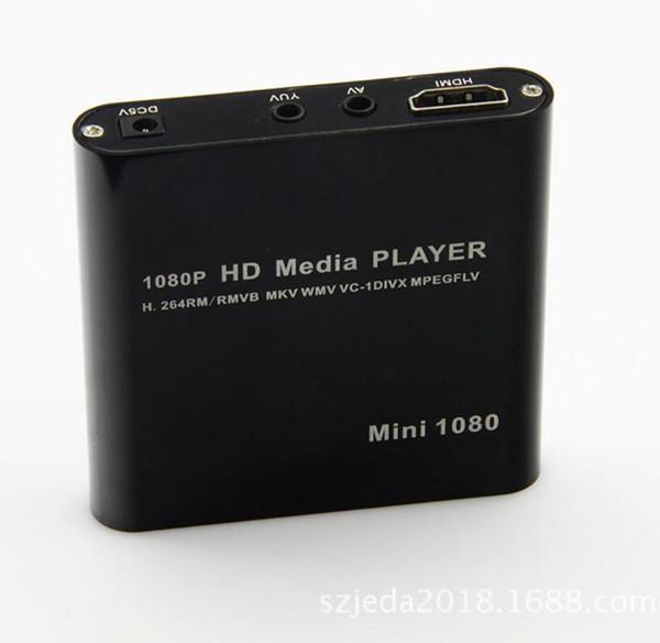Mini 1080P UISB/SD/MMC HD HDMI/A/V Port TV Audio Multi Media Player-MKV/RM/RMVB SD USB HDD players