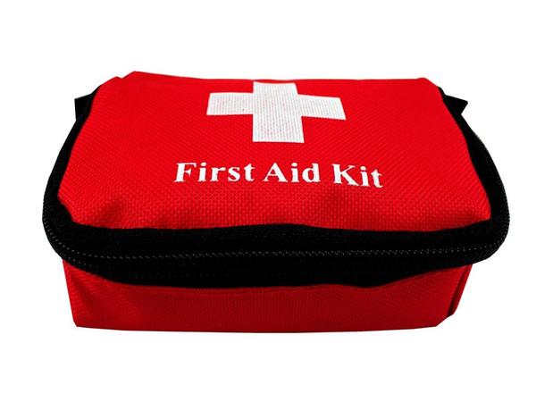 Bolsas al aire libre Viajes Deportes Hogar Bolsa médica Coche al aire libre Supervivencia de emergencia Mini Kit de primeros auxilios Bolsa (vacía) Bolsa EDC